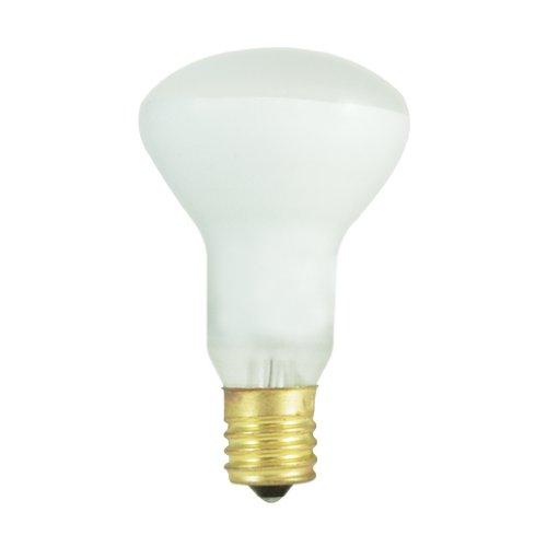 Tuff Lite Flashlight - Bulbrite 211040 - 10PK - 40W - R16 - E17 Base - 120V - 2600K - 1,500Hrs - Flood - Clear - Incandescent Mini Reflector
