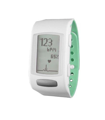 LifeTrak Core C200 24-hour Heart Rate Watch, White Pistachio