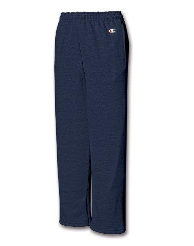 Champion Boys Big Powerblend Eco Fleece Sweatpant, Navy, L