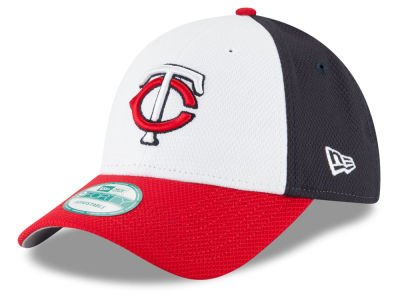 Minnesota Twins MLB New Era YOUTH Perforated Block 9FORTY Adjustable Velcro Cap, Youth Size