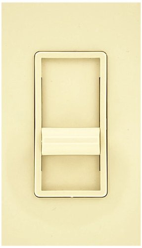 Leviton 6668-1I SureSlide 500W Dimmer for Mark 10 Powerline, 350W Philips Marathon or dimmable CFL, Single Pole, Ivory