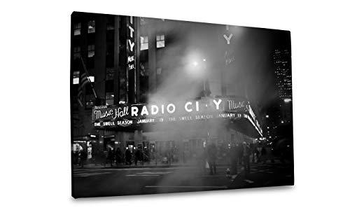 City Radio Music Hall Photos - Winkflash Radio City Music Hall Canvas Photo Art, 48x32