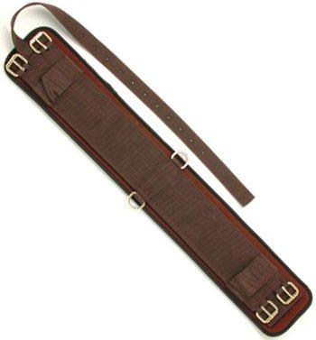 Tough 1 Australian Outrider Collection Neoprene Girth, Brown, 36-Inch