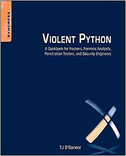 Python pdf violent a cookbook for hackers