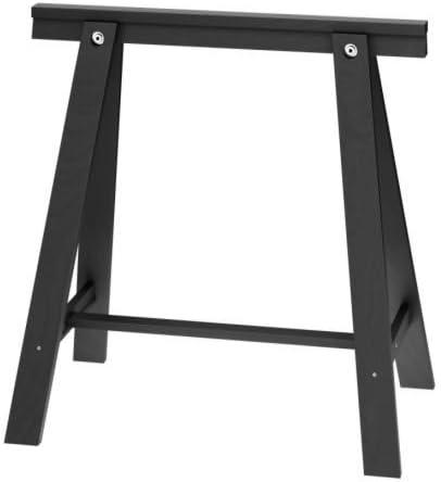Ikea ODDVALD - Caballete, Negro - 70x70 cm