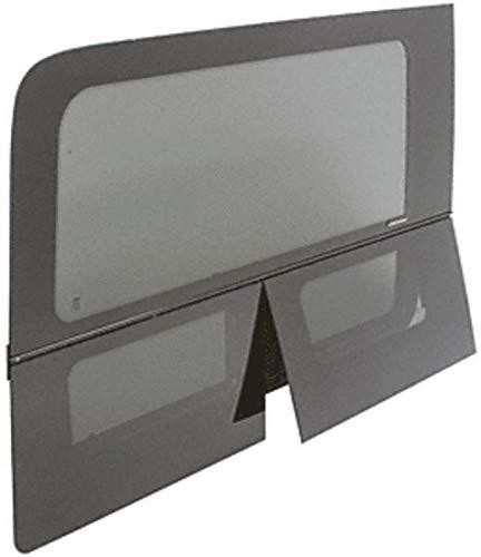 CRL 2007+ OEM Design All Glass Look Sprinter Van Dual-Vent Passenger Side Rear Quarter Panel Window for 170