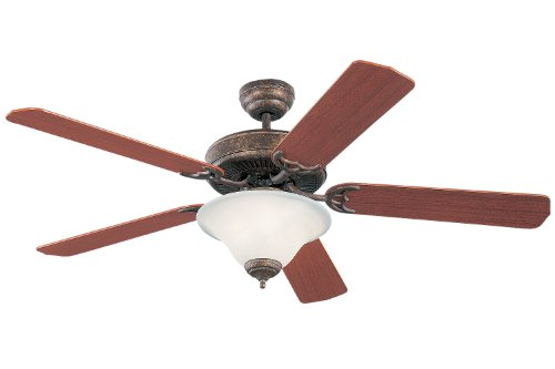 Monte Carlo 5HS52TBD-L, Homeowner Deluxe Ceiling Fan, 52'', Tuscan Bronze