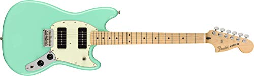Fender Offset 6 String Solid-Body Electric Guitar, Right, Seafoam Green (144142573)