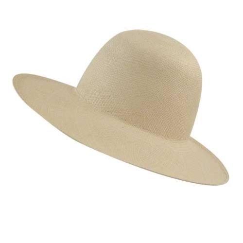 Pantropic Men, Women Panama Sun Hat Natural One Size Fits Most