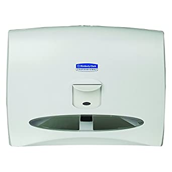 Kimberly Clark Professional 09505 Personal Seats Toilet Seat Cover Dispenser 17 1 2