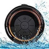 Best Dorm Room Speakers - Bluetooth Shower Speakers, HAISSKY Portable Wireless Waterproof Speaker Review