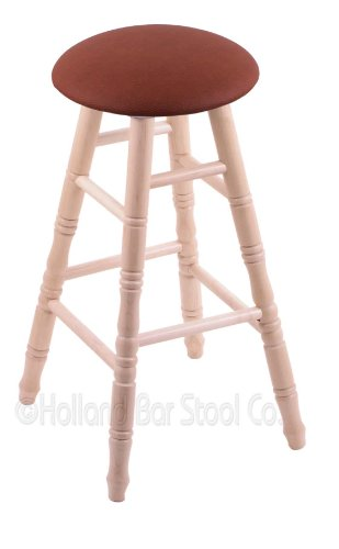 Maple Extra Tall Bar Stool in Natural Finish with Rein Adobe Seat price