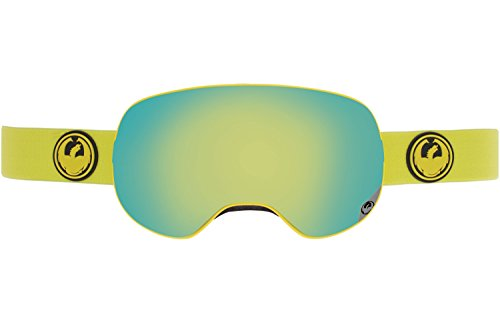 Dragon Alliance X2 Ski Goggles, Vivid/Smoke Gold - Sunglasses Triple H