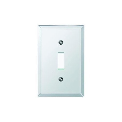 Beveled Glass Mirror Switch Wall Plate