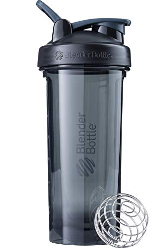 BlenderBottle Pro Series Shaker Bottle, 24-Ounce, Black
