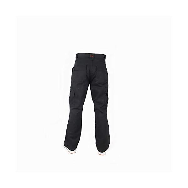 Lee Cooper Cargo Pantalon pour homme – Noir -40W/29L