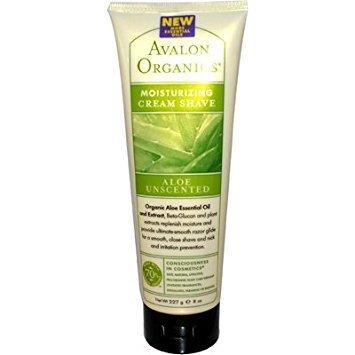Avalon Organic Botanicals - Avalon Organics Moisturizing Cream Shave Aloe Unscented - 8 Fl Oz - Pack Of 1 by Avalon Organics