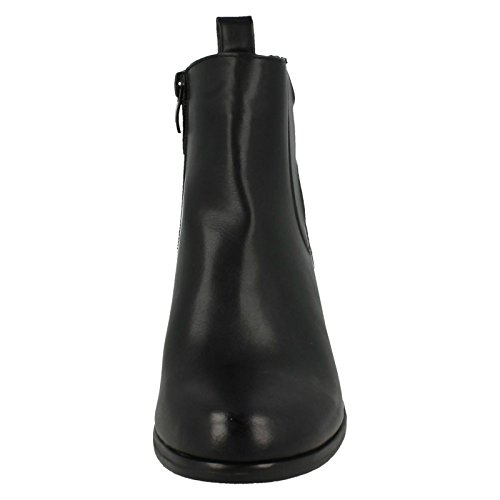 Down Boots Earth Chelsea Heeled Black Ladies To gPg1RT