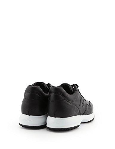 Hogan Men Hxm00n0u040du50002 Sneakers In Pelle Nera