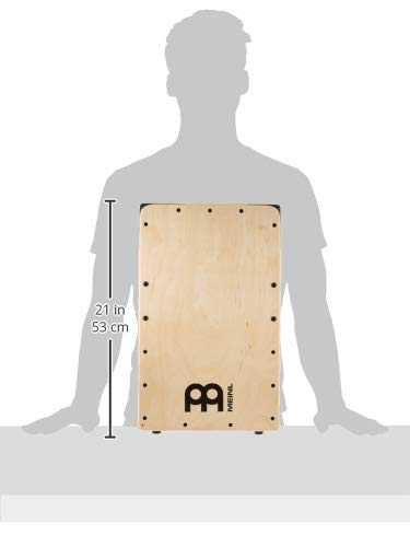 Meinl Pickup Cajon Box Drum with Internal Snares - MADE IN EUROPE - Baltic Birch Wood, Snarecraft Series, 2-YEAR WARRANTY (PSC100B) by Meinl Percussion (Image #8)