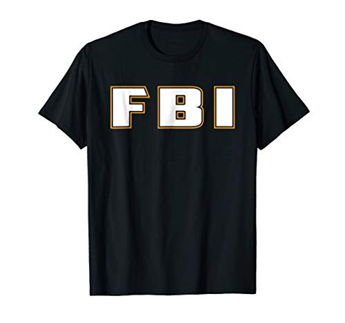 FBI Federal Agent Funny Halloween Costume T-Shirt ()