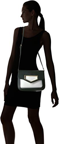 White Black Flap Klein Hardware Calvin Cut Novelty Crossbody Out a1Wfq4wH