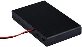 Portapilas, Malloom 8 slots AA 12V soporte conector almacenamiento ...