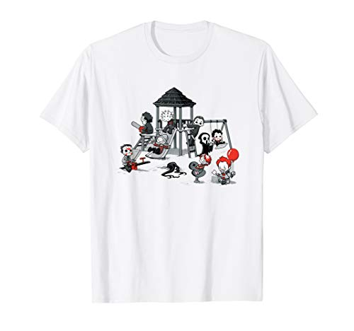 Funny Scary Playground Puppet Doll Horror Shirt T Shirt -