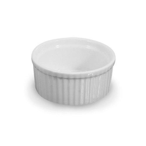 BIA Cordon Bleu White Porcelain Ramekin, 4 count by BIA Cordon Bleu (Image #1)