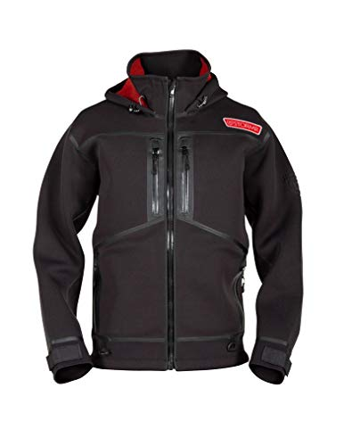 Stormr Strykr Neoprene Jacket or Bib Pants - Wind and Waterproof with Low Pile Stretch Fleece Interior - Lightweight, Warm, Comfortable, Ultra Flexibility - Thermal Welded Seams