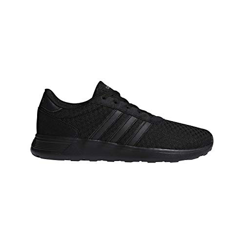 adidas Lite Racer Running Shoe, Black/Grey, 10.5 M US
