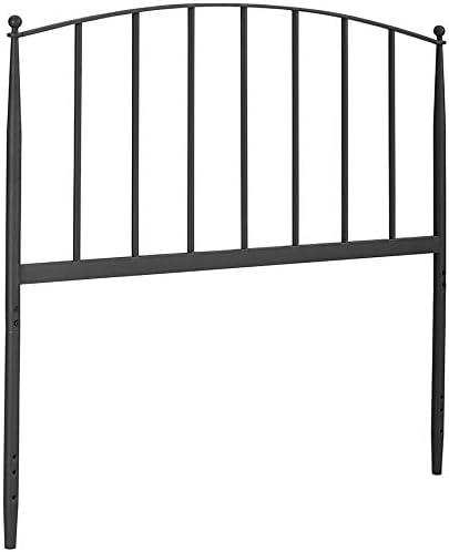 Amazon Com Crosley Furniture Whitney Arched Metal Headboard King Black