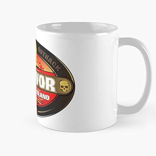Morning Coffee Ceramic Best Gift 11 Oz Survivor Zombie Island Zombie,dawn,dead,survivor Movie Classic Mug