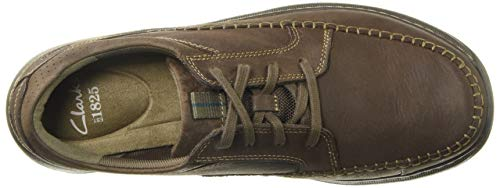 Nubuck Brown CLARKS Vibe Oxford Men's Charton fP8q6Y