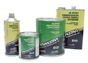 TRANSTAR 6134 Gray 2K Epoxy Primer/Sealer - 1 Quart by TRANSTAR