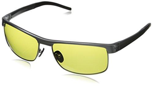 Callaway Men's Tour Series Apex 3 E040 Sport Sunglasses,Matte Light Gunmetal,60 - Glasses Sun Callaway