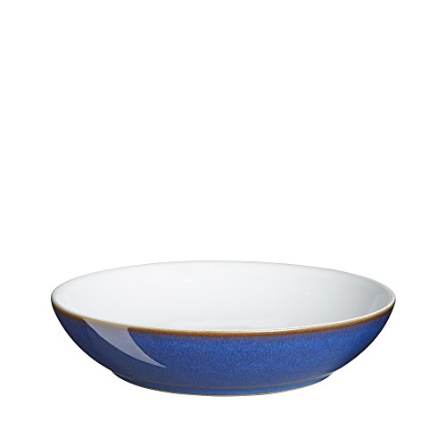- Denby Imperial Blue Individual Pasta Bowl