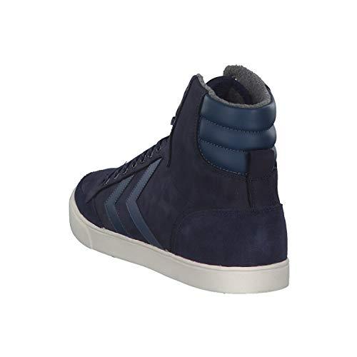 Hummel Unisex Sneaker Stadil Slimmer Erwachsene Peacoat Oiled High Duo Hohe qrqpFd7xw