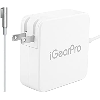Macbook Pro Charger, iGearPro Replacement Macbook Pro Charger, 60W Magsafe L-Tip Power Adapter for Apple Macbook Pro Charger and 13-inch MacBook Pro(Before Mid 2012 Models)