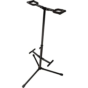 onstage gs7462db double electric and acoustic guitar stand musical instruments. Black Bedroom Furniture Sets. Home Design Ideas