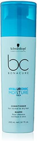 Bc Bonacure Hyaluronic Moisture Kick Condicionador Creme 200Ml, Schwarzkopf Professional