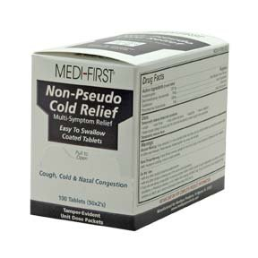 Medique Products 82233 Cold Relief Tablets, 100 Tablets