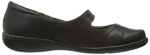 Par Doux Leather Mary Hush Jane Flat Style Black Puppies Jayne 5x6Zx