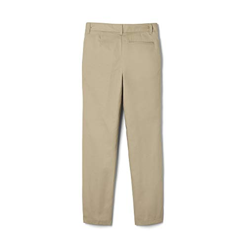 French Toast Boys' Flat Front Double Knee Pant