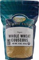 Shiloh Farms Organic Whole Wheat Couscous -- 15 oz