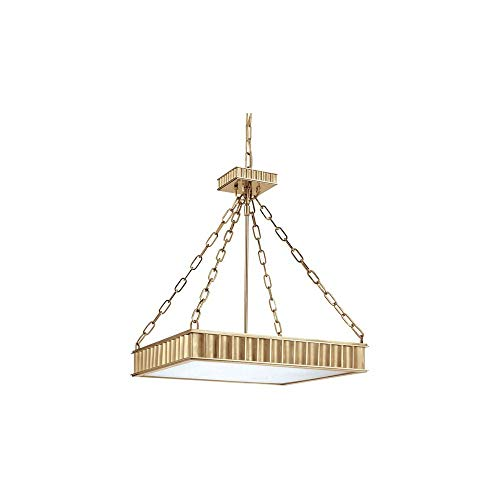 Hudson Valley 935-AGB Middlebury Pendant, 5-Light 300 Total Watts, Aged Brass (Lighting Pendant Middlebury)
