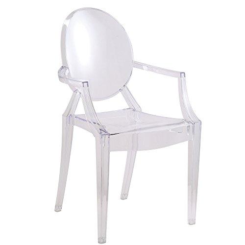 Merveilleux Amazon.com   Designer Modern Louis Ghost Chair   Modern Acrylic Arm Chair    Chairs
