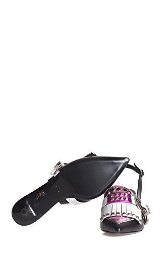 Strategia Vrouwen Sta3871 Zwart Lederen Sandalen