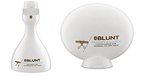 BBLUNT Perfect Balance Shampoo 400ml & Conditioner 200gm For Normal To Dry Hair (Pack of 2)