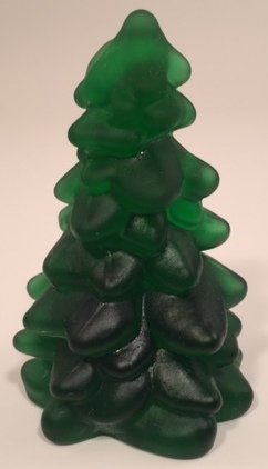 Holiday Christmas Tree - Mosser Glass USA - Small 2 3/4